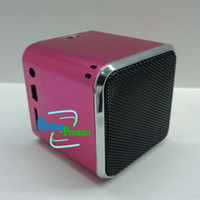 Wholesale Via EMS fashionable Mini Music Speakers Square Audio Box For mobile phone laptop