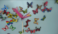 Wholesale Novelty New style Magnetic Noctilucent Butterfly luminous butterfly Cute butterfly