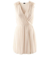 Wholesale 2012 new summer V neck dress bridemaid dress chiffon material hot women s original single dress