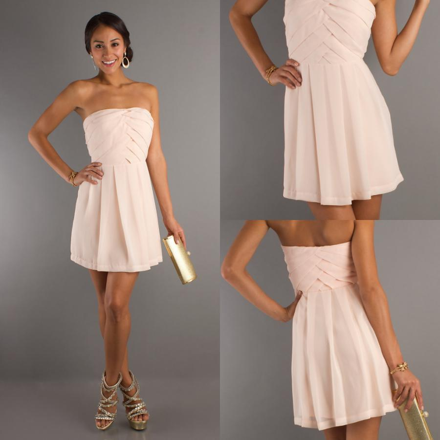 Short Pink Cocktail Dress