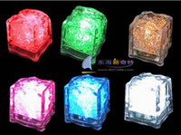 Wholesale Hot Item Lowest price Colorful LED Ice Cube Light Wedding Party Christmas Decoration