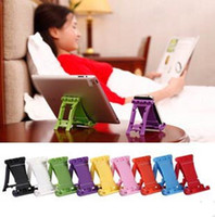Wholesale Universal Stand Mount Holder Cradle for Cellphone Tablet PC E book ipad2 F1 Folding Racing p