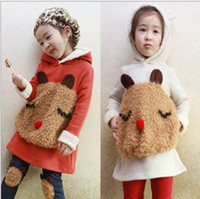 Wholesale 2012 autumn cute cartoon bear children HOODIES kids sweater baby hoodies girl coat child wear