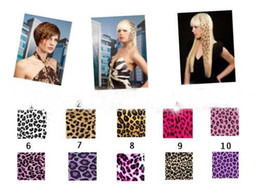 Wholesale Top High16 quot Leopard Print Heat Friend Synthetic Hair Extension Clip In Feather Extensions