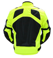 Wholesale men s Breathable mesh Oxford cloth motorcycle jacket Summer perfect breathable comfort
