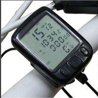 Unisex big lcd monitors - Bicycle Sports watch Mountain bike waterproof sports watch Speed Watch Stopwatch big LCD