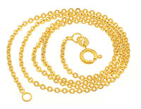 Wholesale Fashion Gold Plated Women Necklace Chain with Free Gift Mixed GL