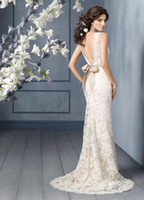 Wholesale New Discount Wedding Dress Bridemaid s Dress Evening Gown Prom Lace Mermaid A982