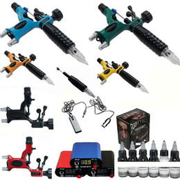 Wholesale 1 DRAGONFLY Rotary Tattoo Machine Gun Tattoo kit Inks