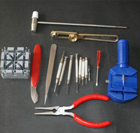 Wholesale 16 Pc Deluxe Watch Repair Tool Kit W Link Pin Remover