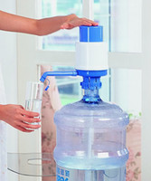Cheap Hot DIY Drinking Water Pump Drinking Device Water Hand Manual Pump Dispenser Bottled Free Shipping