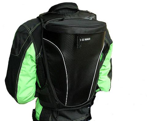 Man's Advanced Oxford Hump Motorcycle BackpackEquipped With ...