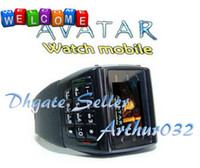 Wholesale Lowest Price Avatar ET Dynamic Design Of Watch Cell Phone Bluetooth Quadband Number Keyboard