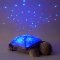 Wholesale Twilight Turtle Sleeping Night Light Star Guide Constellation Sky Children s Lamps V3146