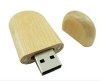 Wholesale Genuine GB GB GB GB GB GB Wooden USB Flash Drive Flash Drives Pen Drive Memory Stick UW0007