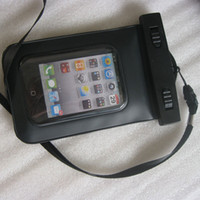 Wholesale Waterproof Case Dry Bag Neck Strap for iPhone for iPod Touch for Cell phone for MP4