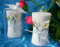 Wholesale Lilies candles wedding candles adornment candles valentine s day candles