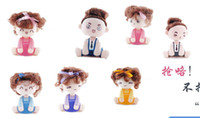 Wholesale Lovely Mocmoc Doll Auto Car Dashboard Head Shaking Home Decoration Expression Toy Dolls Baby Gift