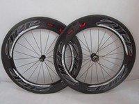 Wholesale ZIPP T Tubular Clincher full carbon wheels Wheelset build with Novatec hubs flat spokes