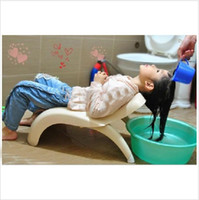 Wholesale Children chair baby shampoo shampoo shampoo hair chair infant bed stoolwash hair chair deck chair op