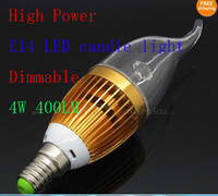 On Sale 50pcs High Power Dimmable E14 E27 Candle LED Light 4...