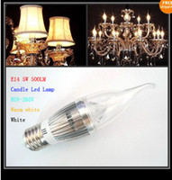 High Power E14 E27 5W 500LM Candle led light LED Lamp Led Ca...