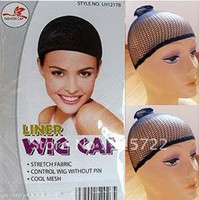 Wholesale NEW Fishnet Wig Cap Stretchable Elastic Hair Net Snood Wig Cap Wig Cap Hai