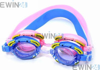 Wholesale Swimming Goggles Crab goggles Silicone anti fog water proof glasses for children with swimgear
