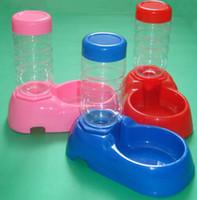 Bowls, Cups & Pails Plastic Indoor Pet Dog Puppy Cat Kitten Rabbit Automatic Water Dispenser Food Dish Bowl Feeder