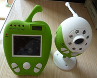 Wholesale cute Wireless baby monitor inch little apple camera