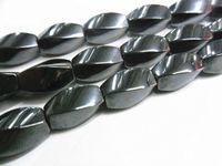 Wholesale High Polish x12mm Twist Hematite Loose Beads quot per Piece