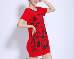 Wholesale Pregnant women pregnant women fashion with irregular painting long money pregnant women T shirt summ