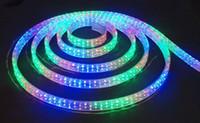 Wholesale 110V V high voltage leds m RGB strips multi colors holiday lights big discount strips