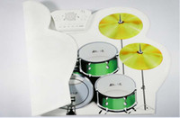 Wholesale MD1008 Portable DRUM USB MIDI DRUM KIT Up to pad Support Louderspeaker DHL free