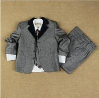 Wholesale HOT Newest flower boy suits children s suit little kids suit popular suit same as Korean super star