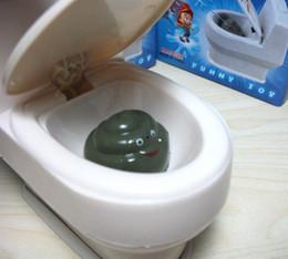 Wholesale Supernatural Water Spraying Closestool Toy Water Squirting Toilet Gag Prank Joke Gift Funny toys