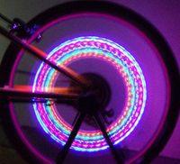 Wholesale Popular Wheels Lights Bike LED Flash Tyre Light Colorful Valve Stem Cap Lamp Gifts