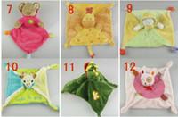 Wholesale Abar Nicotoy Bunny Baby Security Blanket Comfort Comforter