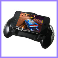 For Apple iPhone Retail box  Black Hand Grip for iphone 4 4g 4s,Gamepad controlled Holder hand grip case for iphone 4
