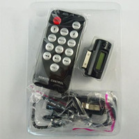 Wholesale 3 in Remote FM Transmitter car charger For GS G