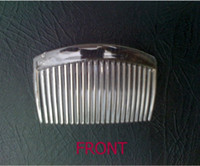 Wholesale CA066 Teeth cm Transparent Plastic Comb Fascinator Comb