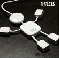 Wholesale HK Post Mini port USB Hub High Speed Cable Hub For PC