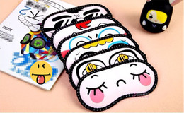 Wholesale eyeshade with ice bag Sleep eye mask plane travelling eye patch