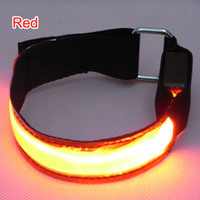 Wholesale 2 cm width LED Arm band mode Flashing Arm Band Lighting for Cycling skating Party