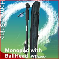 Aluminum Alloy aluminium tripods - Aluminium UltraLightweight quot Camera Monopod with ballhead Retail AE1604
