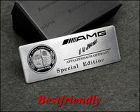 Wholesale 100pcs Mix AFFALHBACH Aluminum Alloy D Car Badge Emblem Sticker Emblems Badges