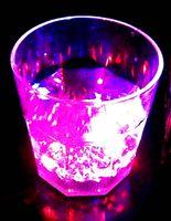 martini glasses - Christmas gifts led flashing Champagne glass beer glass led martini glass