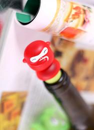 Wholesale 360pcs Rubber Monkey Wine Stopper Unique Company Gift Monkey Wine Bottle Cork Colors Assorted Gift box Packing