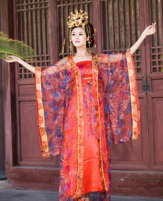 Charming china traditional china clothing the costume tang concubines