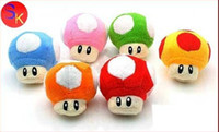 Free Shipping EMS 10 Colours Super Mario Bros Mushroom 4&quo...